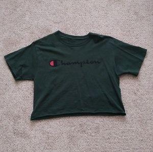 Dark Green Champion Tshirt